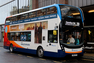Stagecoach: 11285 SN69ZPO Alexander Dennis Enviro 400MMC