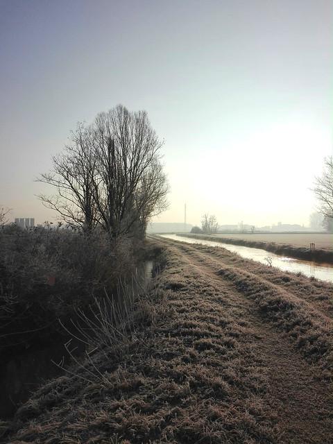 Galiverna 1 -  Frozen landscape-   North Italy