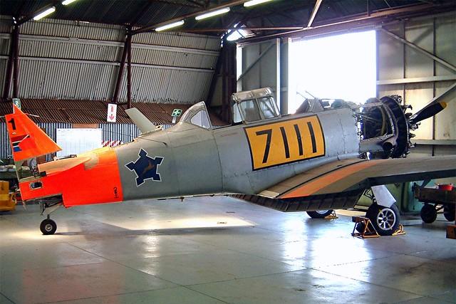 7111   North American AT-6C Harvard IIa [88-9684] (South African Air Force) Swartkop~ZS 06/10/2003