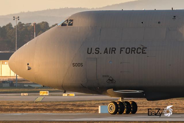85-0005 United States Air Force Lockheed C-5M Super Galaxy