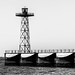 Monochrome Breakwater Light Tower