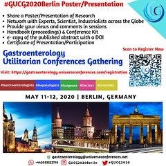 Present your poster and avail benefits, CME, Gastroenterology Conferences, Hepatology Conferences, Berlin Gastroenterology Conferences