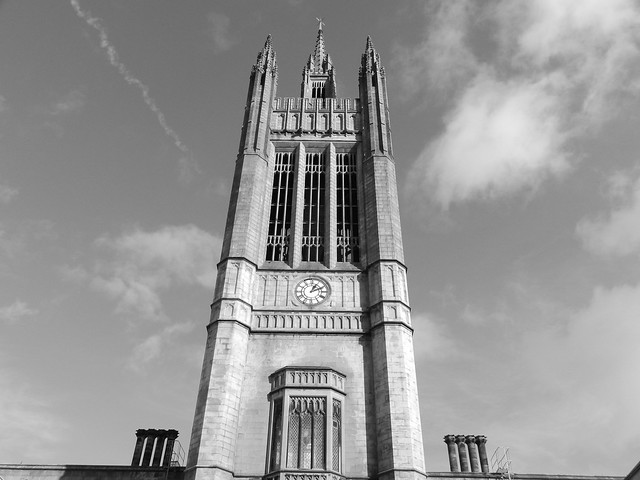Mitchell Tower, Marischal College Quadrangle, Aberdeen, Oct 2019