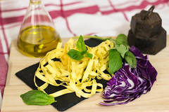 Fotografía de comida 2. Espaguetis tagliatele.