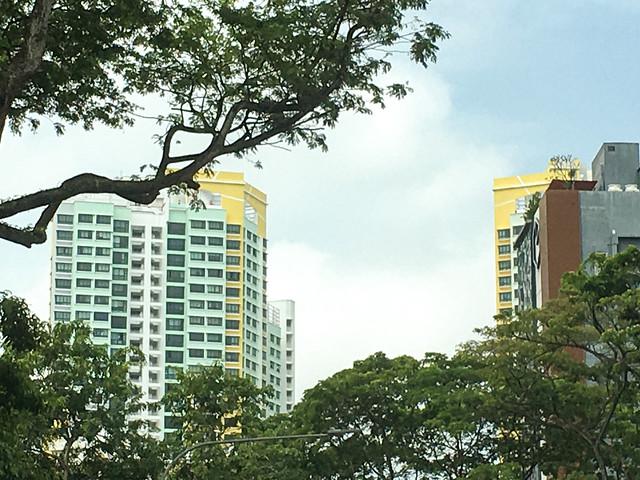 Tiong Bahru Road. Singapore