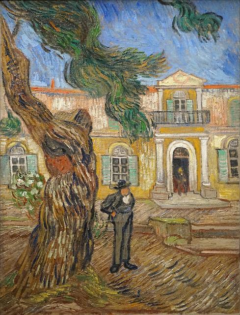 Hôpital Saint-Paul à Saint-Rémy-de-Provence de V. Van Gogh (Musée d'Orsay, Paris)