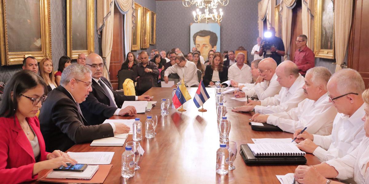 Mesa técnica de salud revisa proyectos en el marco de la XX Reunión del Convenio Integral de Cooperación Cuba-Venezuela