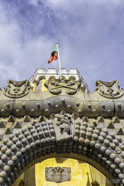 The Iron Gate Palacio Nacional da Pena Sintra Portugal