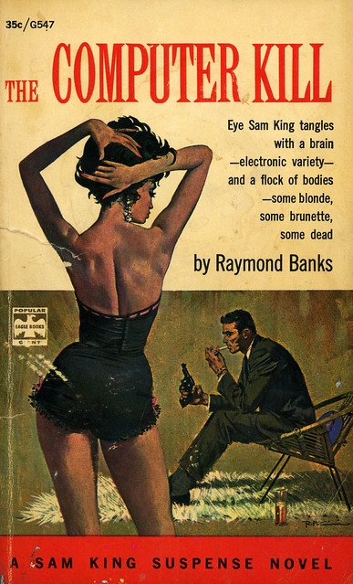 Popular Library G547 - Raymond Banks - The Computer Kill