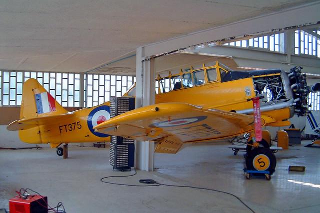 G-BWUL   (FT375) Noorduyn AT-16 Harvard IIb [14A-1415] (Ex Royal Air Force) Brescia-Montichiari~I 18/07/2004
