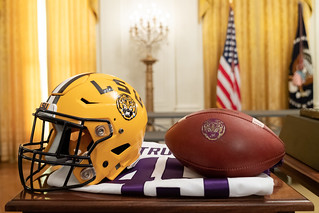 LSU Football at the White House | by The Trump White House Archived