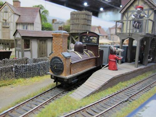 Nonsuch brick train