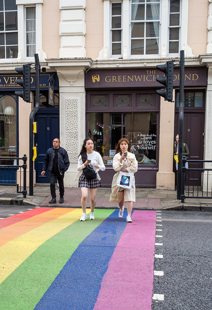 The Pride Crossing