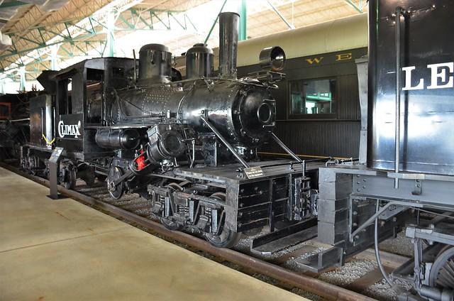 Climax, Pennsylvania, Strasburg, Railroad Museum of Pennsylvania