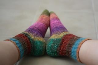 Oak Ribbed Socks