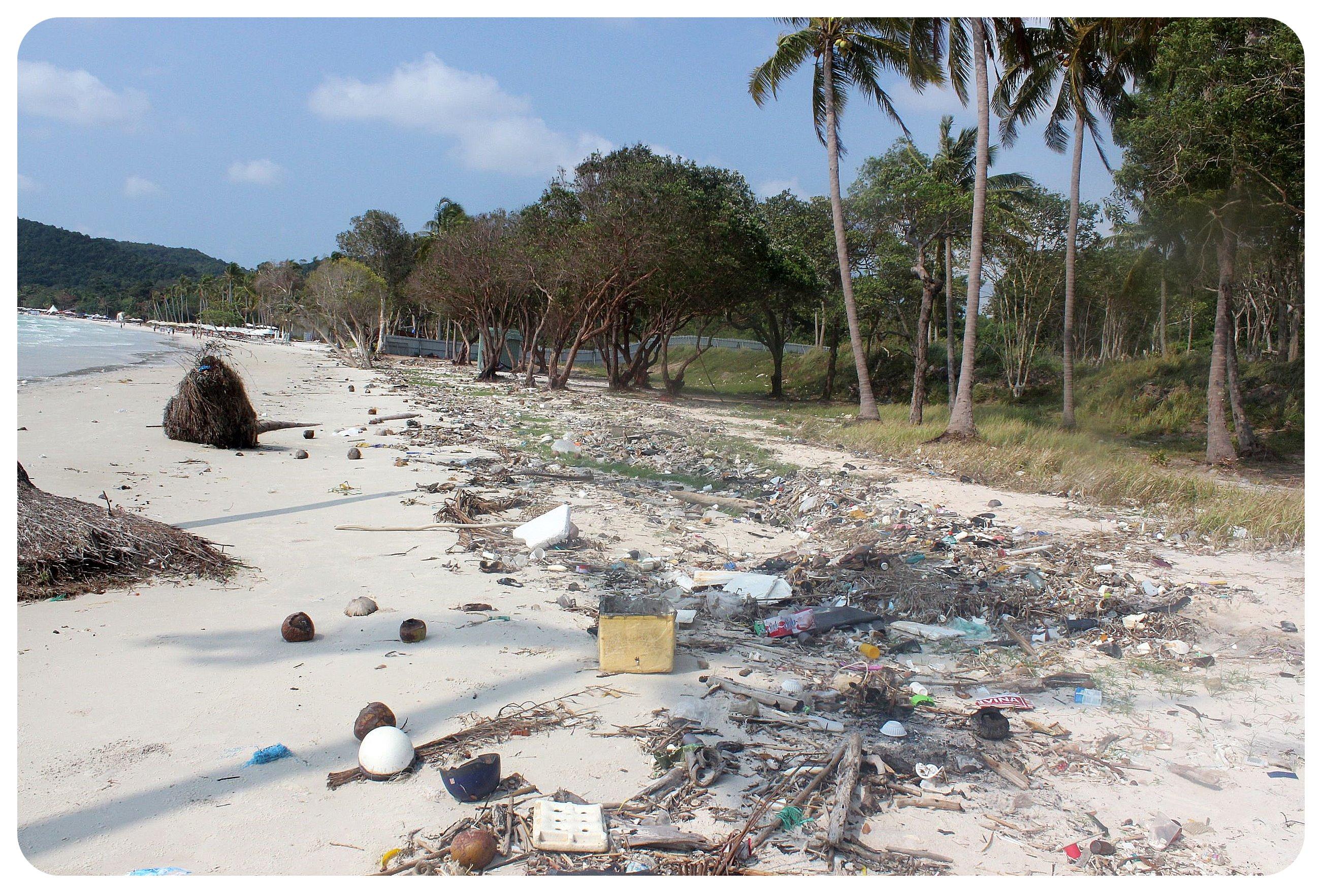 phu quoc bai sao trash garbage
