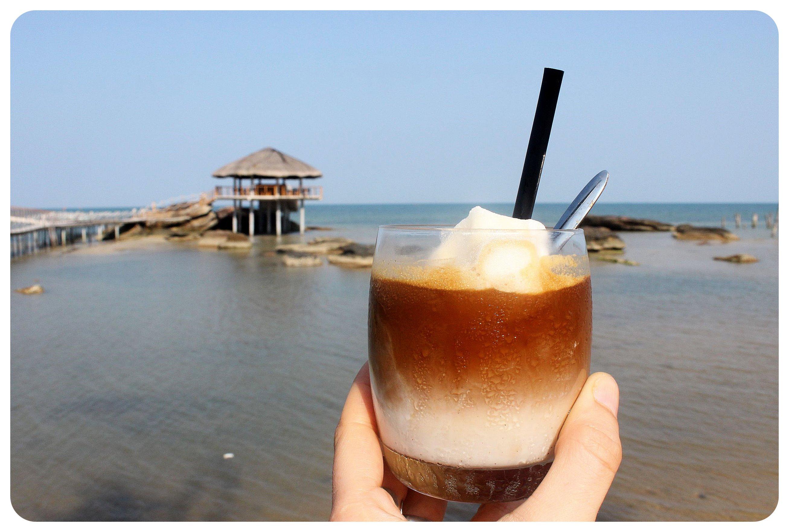 phu quoc coconut iced coffee