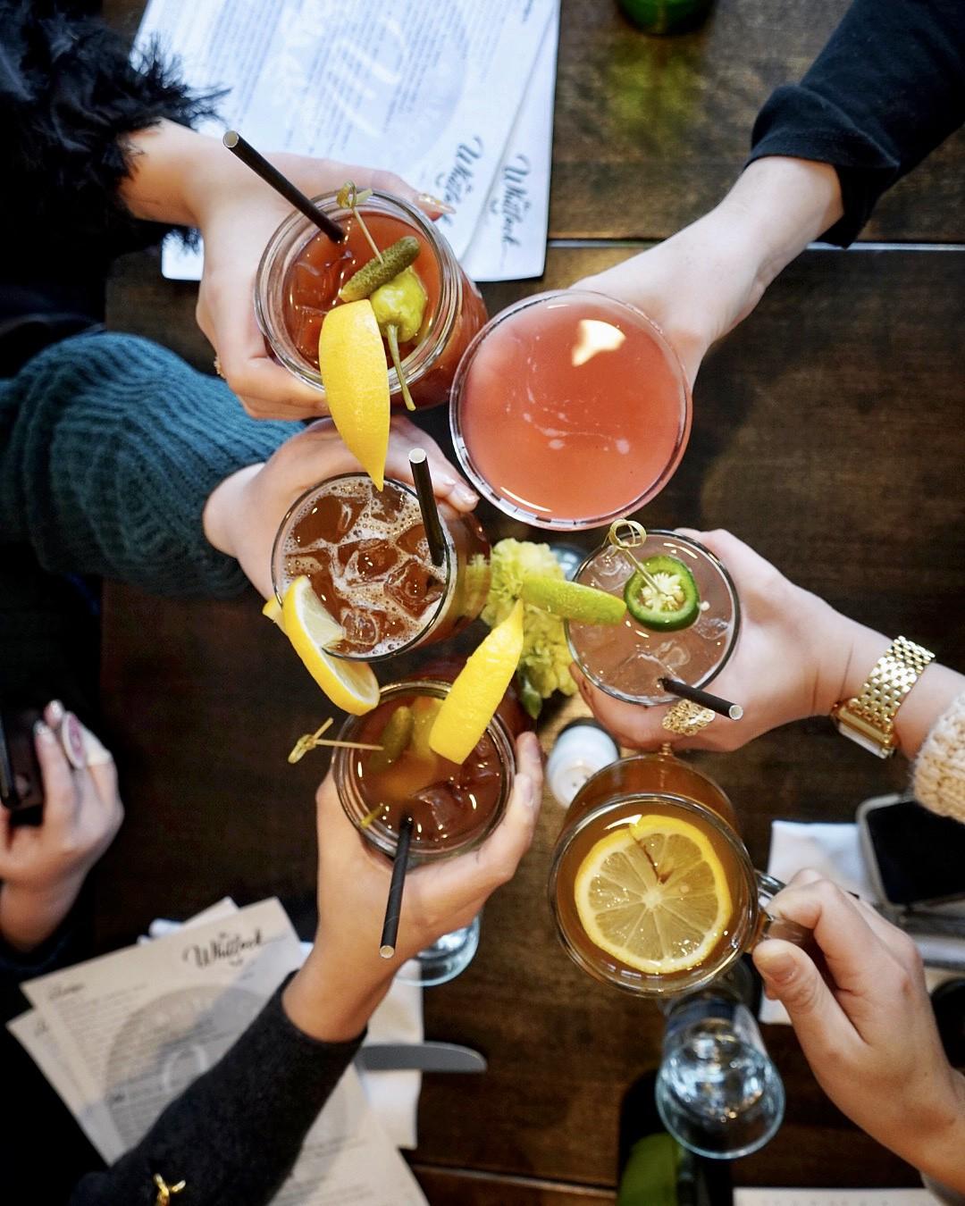 The Whitlock Katonah New York Cheers Drinks