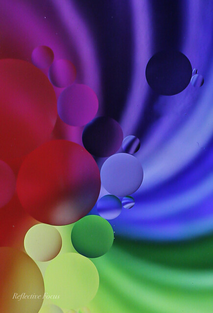 Oily circles