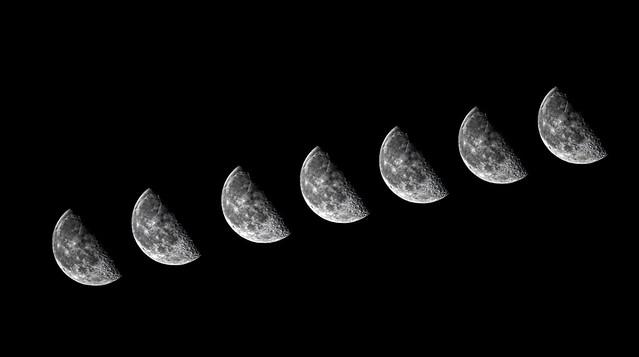 Multi esposizione Lunare con 6D
