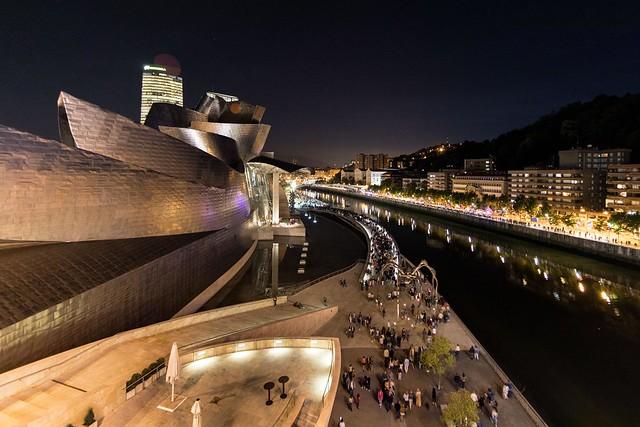 Guggenheim Bilbao. Noche Blanca 2019