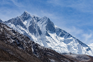 high peaks 016 Lhotse South Face color med | by Valentin Groza