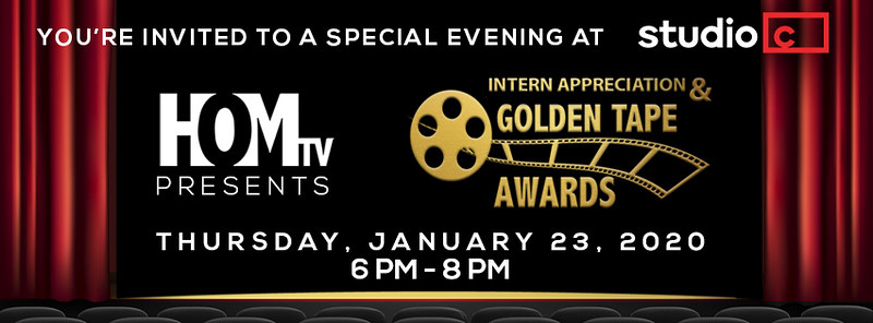 Golden Tape Awards Ceremony and Intern Appreciation Event