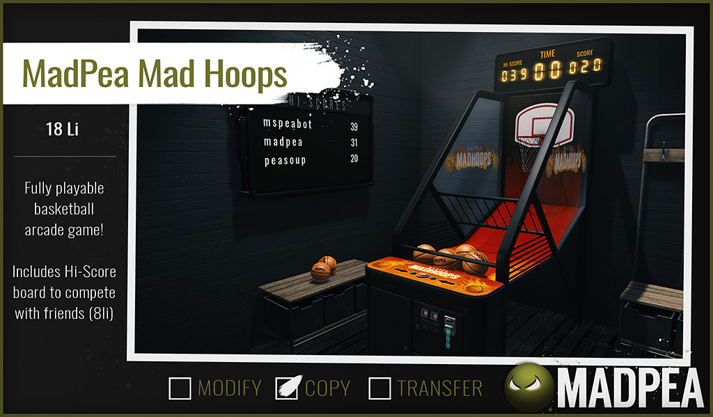 MadPea Mad Hoops @Man Cave!