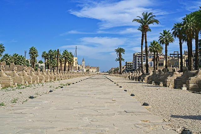 Avenue of Sphinxes