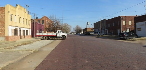 oklahoma ok downtowns jeffersoncounty waurika northamerica unitedstates us chisholmtrail