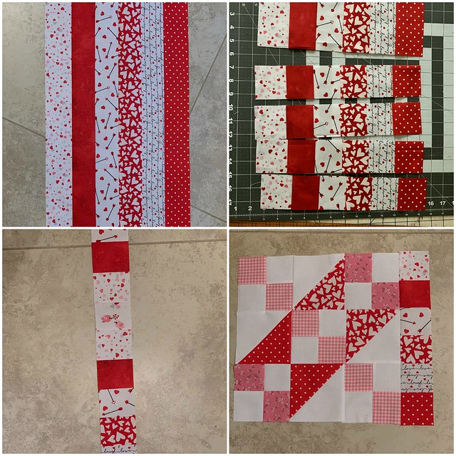 Valentine's Day Mini Quilt 3