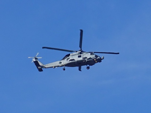 Navy Helicopter Circling SR602022