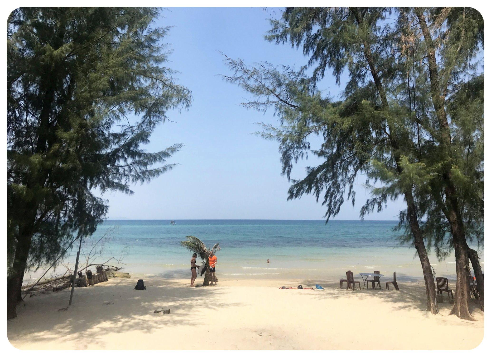 phu quoc empty beach vietnam