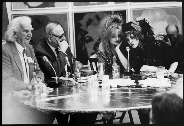 From the archives: Nina Hagen at the Peace Camp, Louisiana Museum of Modern Art (1)