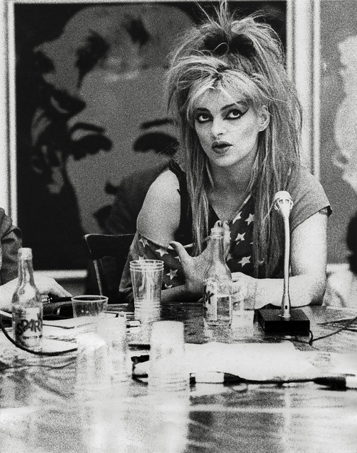 From the archives: Nina Hagen at the Peace Camp, Louisiana Museum of Modern Art (2)