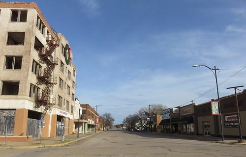 texas tx downtowns westtexas texaspanhandleplains mitchellcounty coloradocity