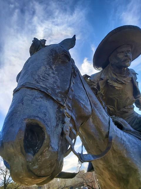 Pioneer Plaza, Dallas, Texas, USA