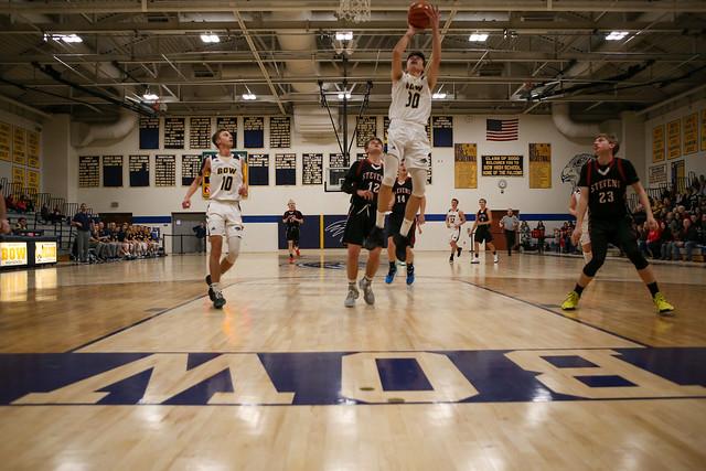 Bow HS vs Stevens HS Boys Basketball