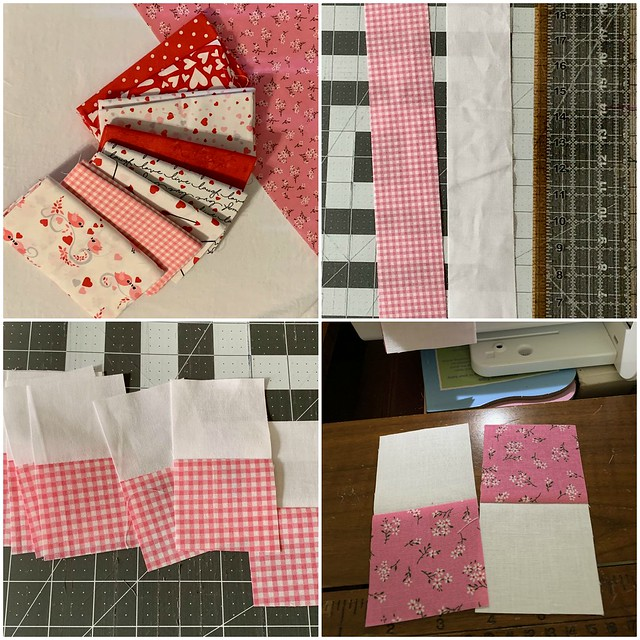 Valentine's Day Mini Quilt 1