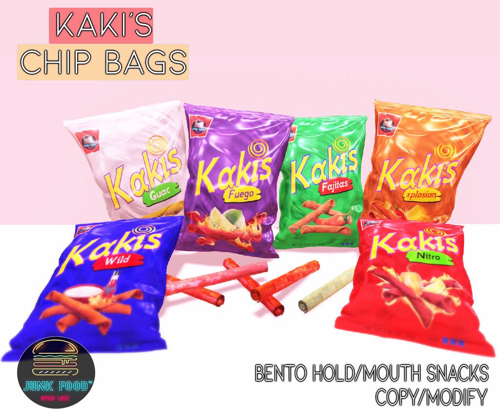 Junk Food – Kaki's Chip Bags Ad