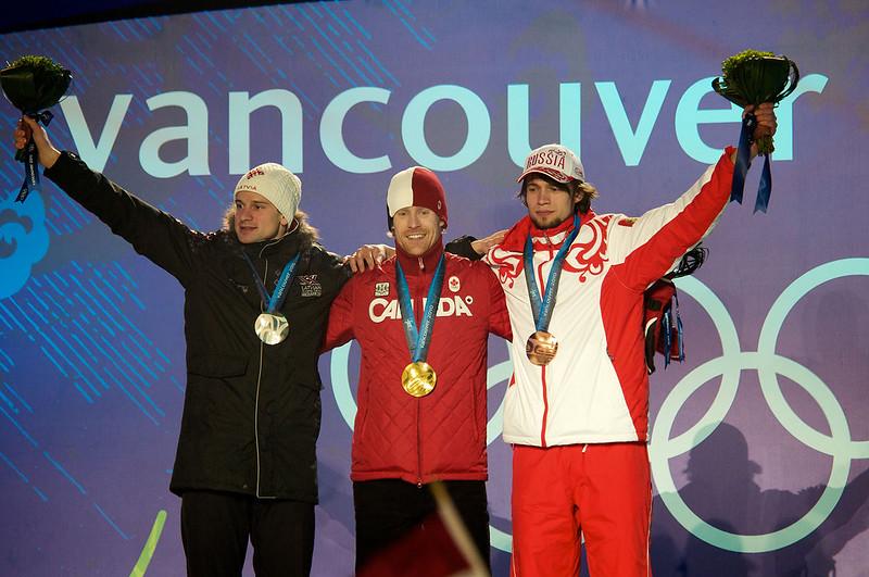 Canadian Golden boy Jon Montgomery