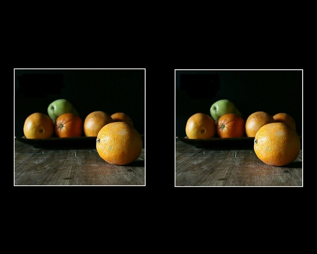 Still life in virtual reality..... parallel view