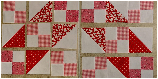 Valentine's Day Mini Quilt 2