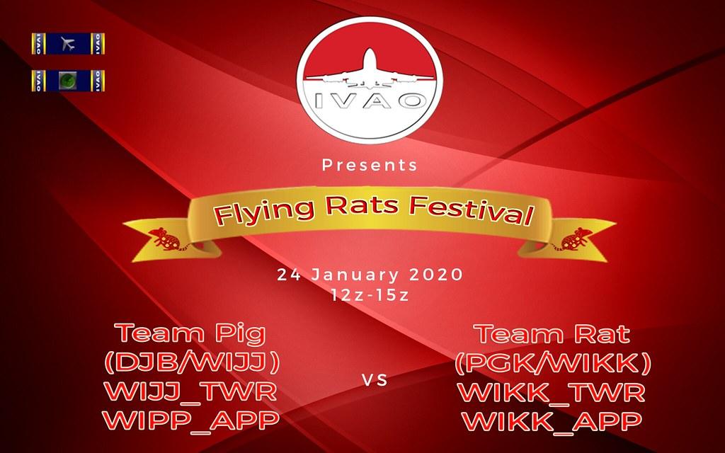 [24 JAN |12z - 15z] [ID] Flying Rats Festival