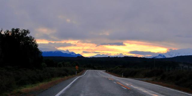 Early morning light.  NZ.
