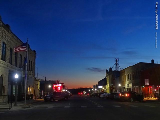 Evening in Alma, 4 Jan 2020