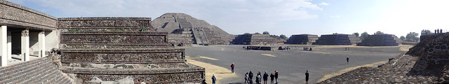 Teotihuacan Panorama, Mexico state, Mexico