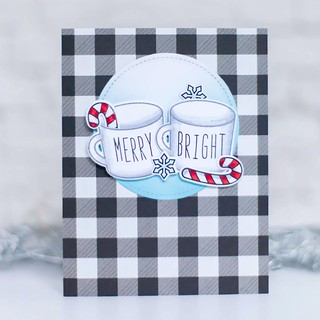 Rae Dunn inspired Xmas with Lawn Fawn