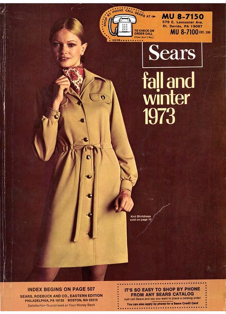 1973 Sears Fall Winter Catalog