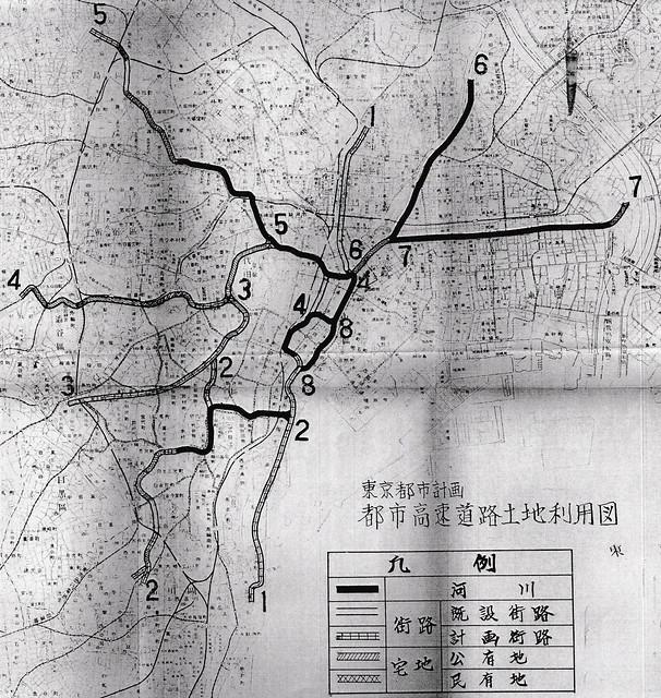 首都高と河川・運河の関係